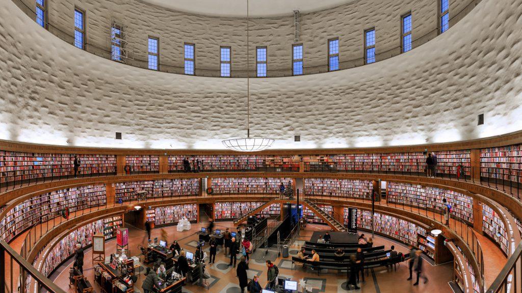 Stockholms Stadsbibliotek / Stockholm Public Library