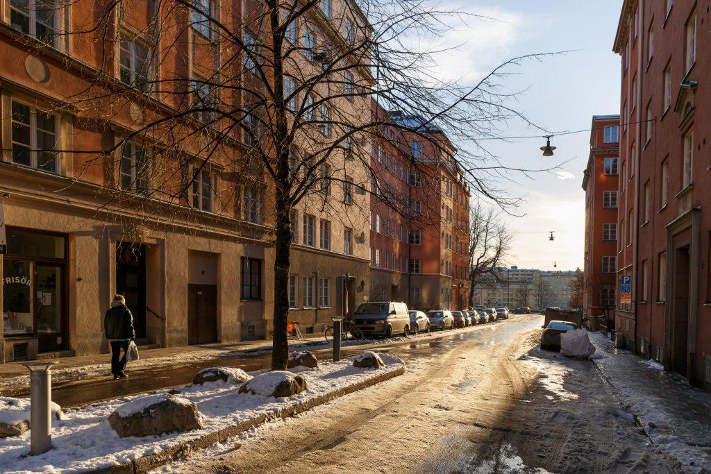Drejargatan, Birkastan
