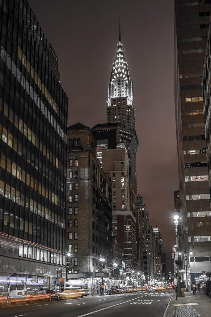 Chrysler tower - HDR kvällstid