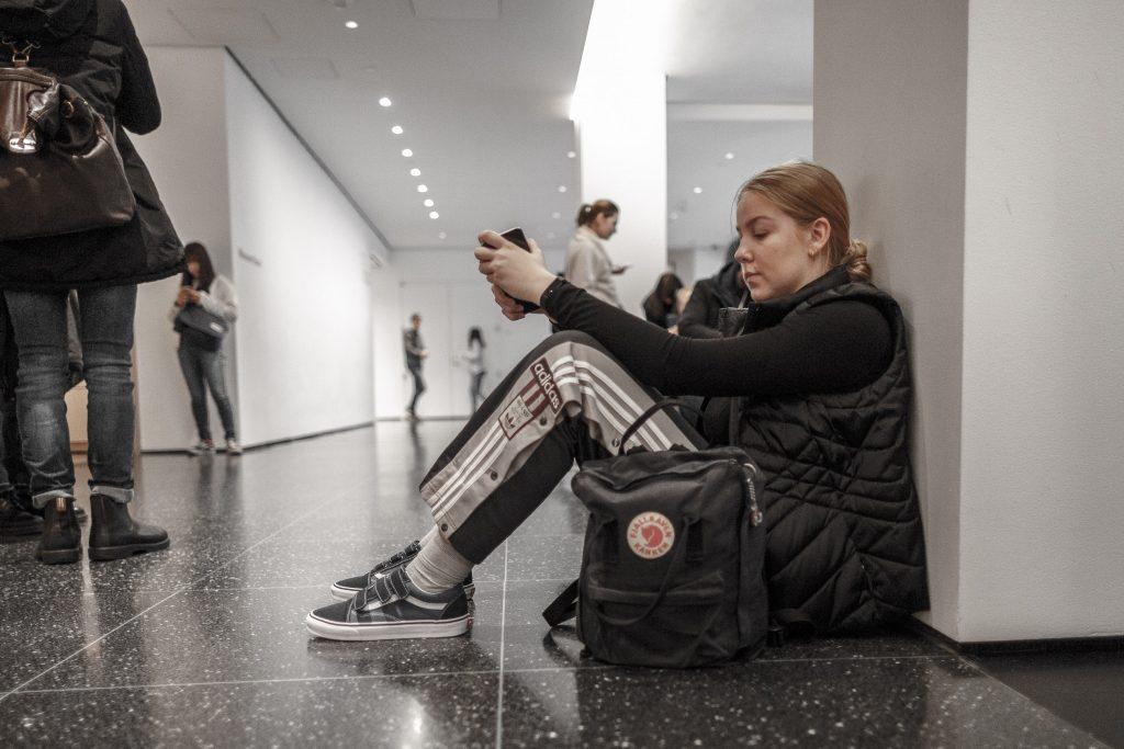 MoMA - lite uttråkad